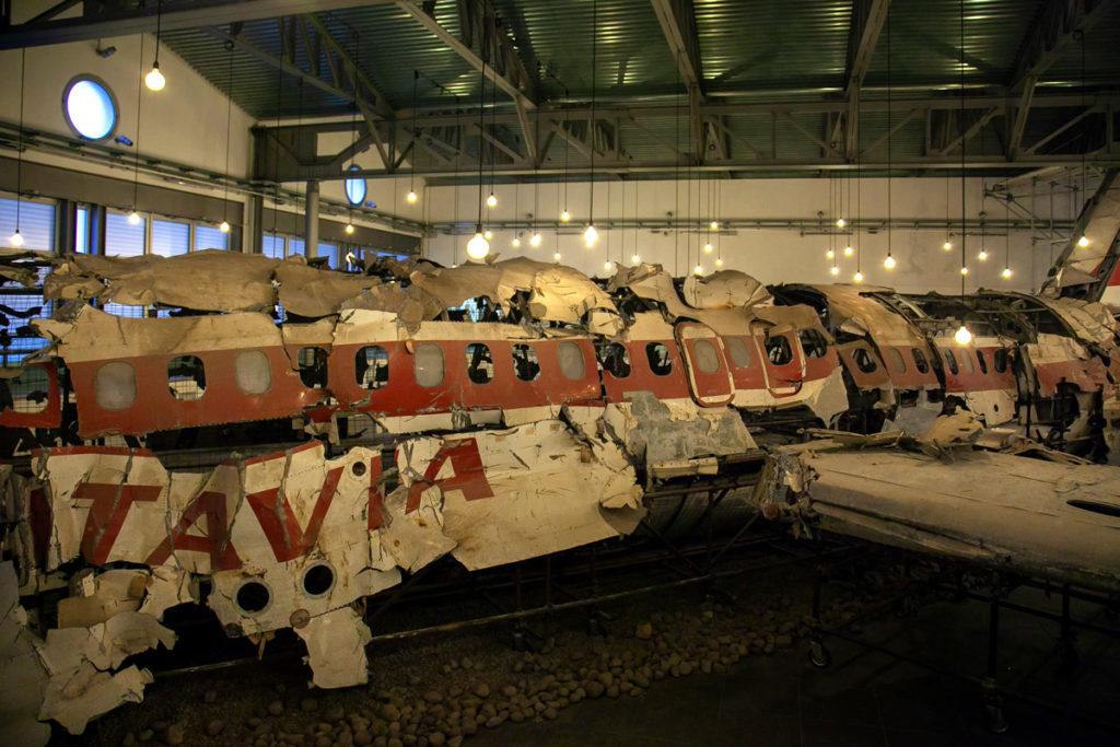 Volo ITAVIA della strage di Ustica ricomoposto dentro al museo di Bologna