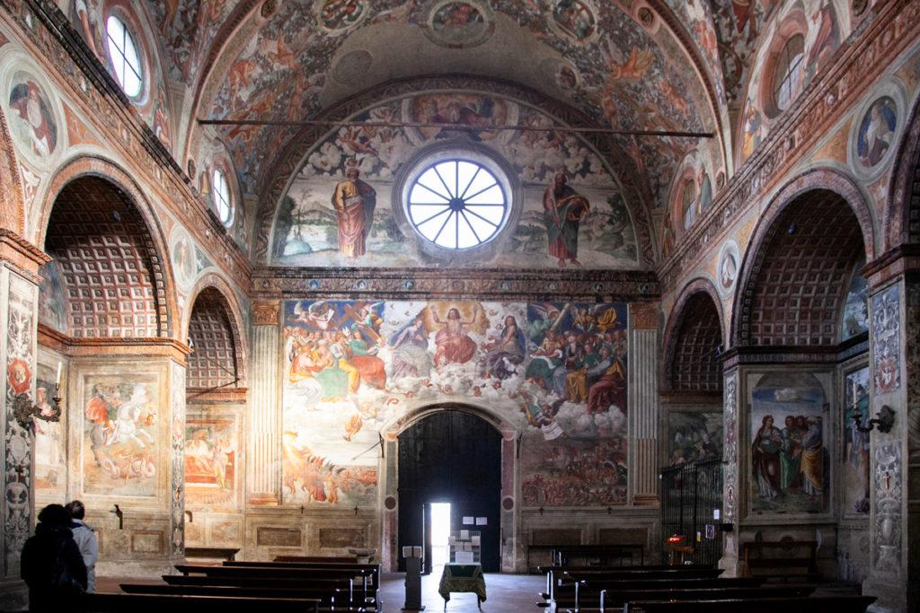 Affreschi cinquecenteschi della chiesa di Santa Maria delle Grazie