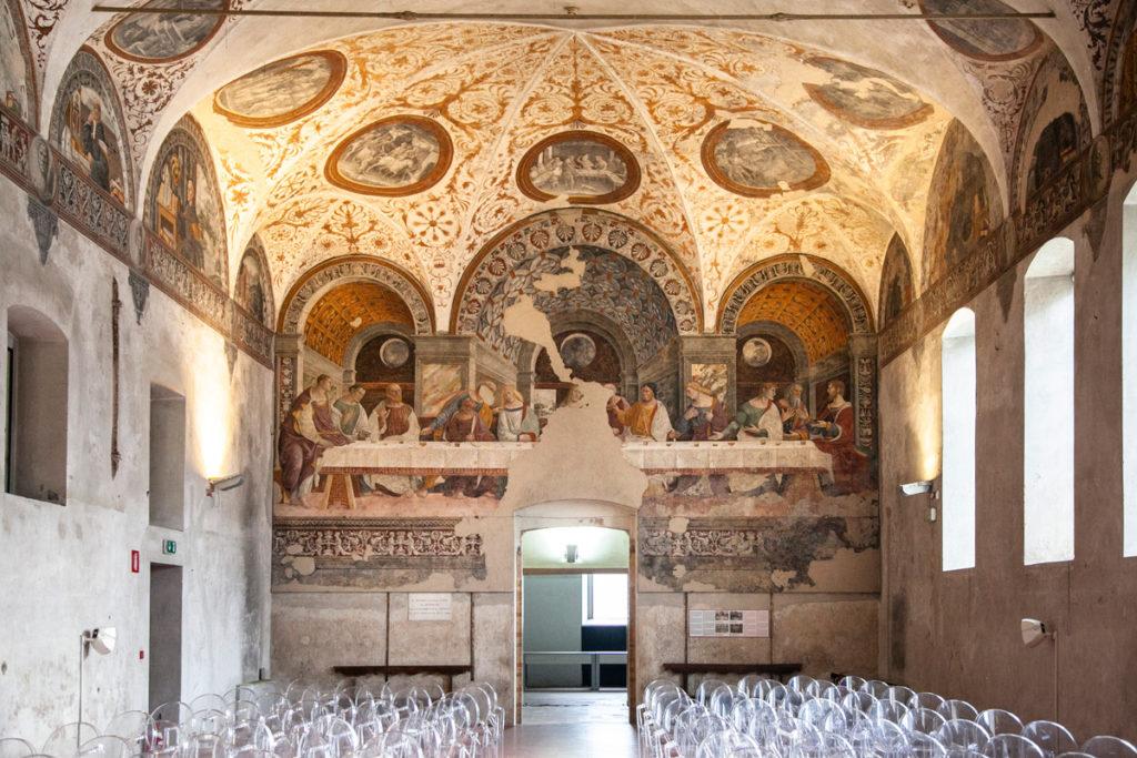 Affresco Ultima Cena nel refettorio dell'Ex Convento di Sant'Agostino - Cosa vedere a Crema