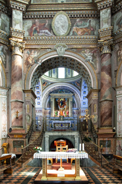 Altare - Altare Superiore - Cripta del Santuario di Santa Maria della Croce a Crema