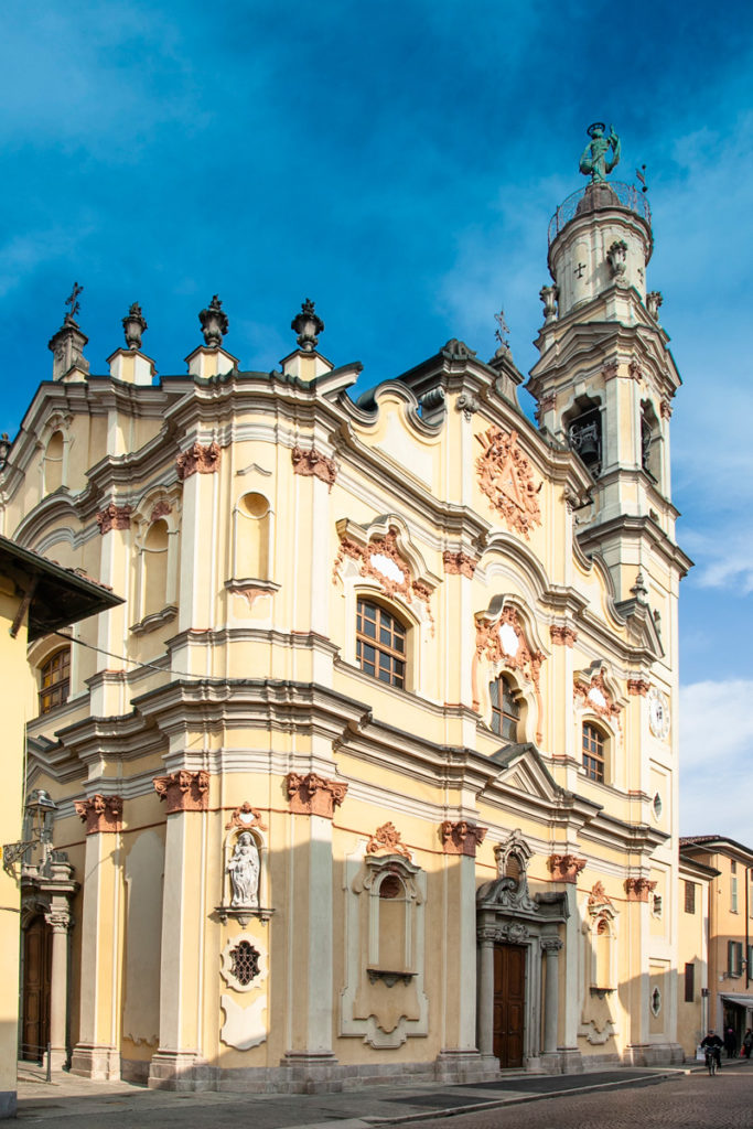 Chiesa della Santissima Trinità di Crema - Facciate esterne