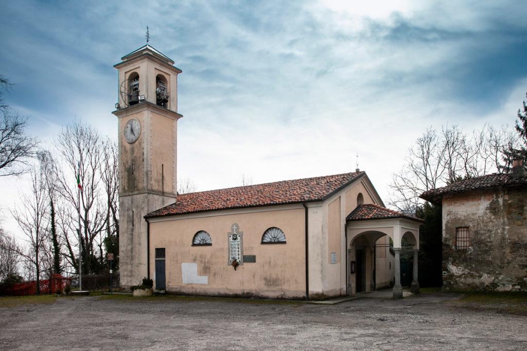 Chiesa di San Maurizio - Edificio Storico dentro al borgo di Consonno