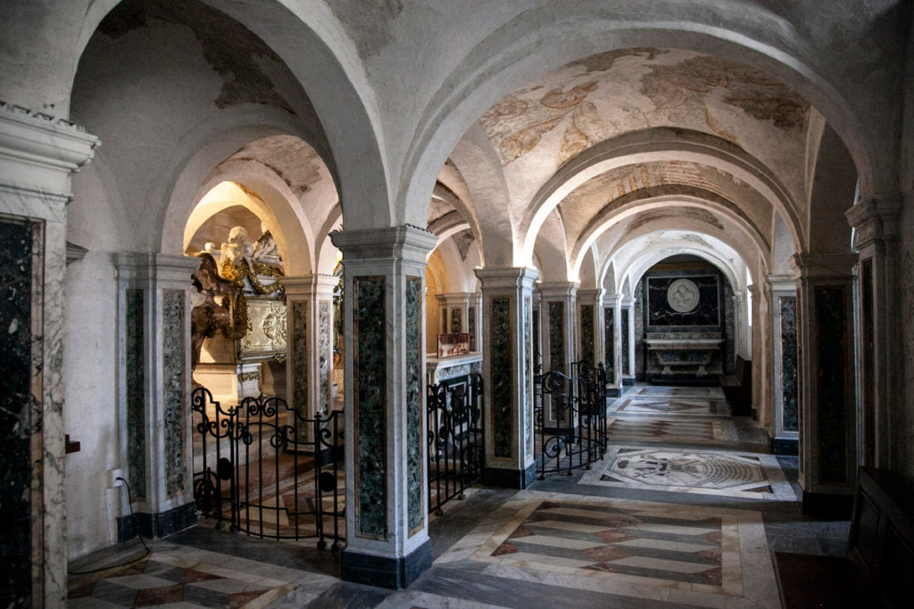 Cripta dei Protettori - Cattedrale di San Ciriaco