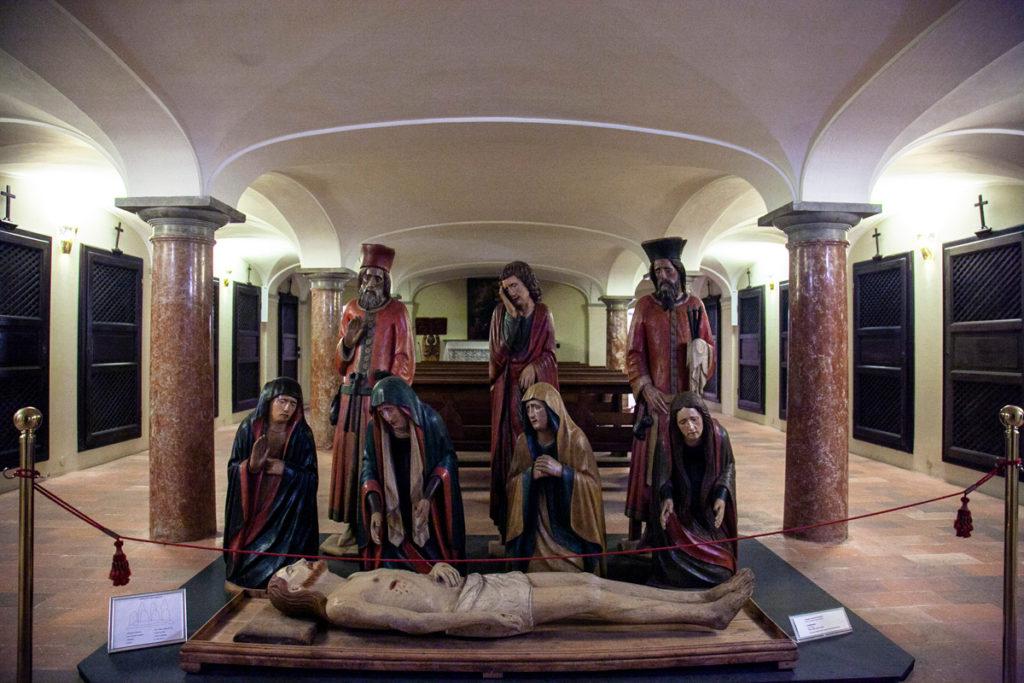 Cripta del duomo di Crema