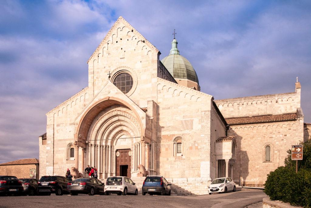 Duomo di Ancona - Esterni della Cattedrale di San Ciriaco
