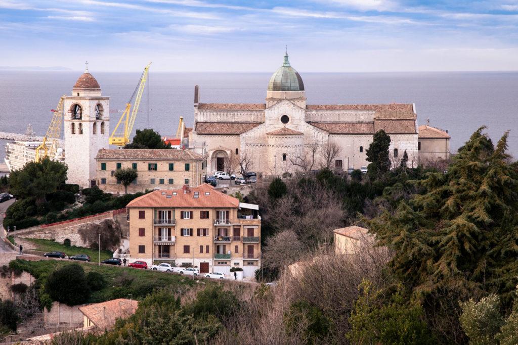 Duomo di Ancona e Campanile su colle Guasco