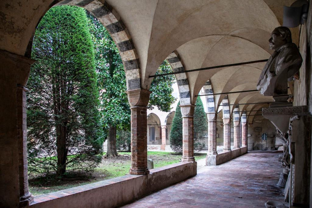 Ex convento di Sant'Agostino - Chiostro Settentrionale