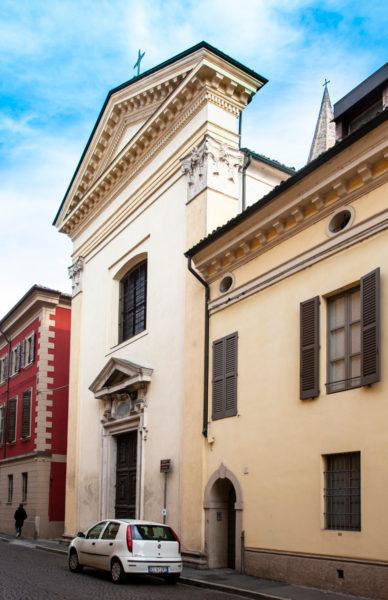 Facciata Oratorio di San Giovanni Battista a Crema