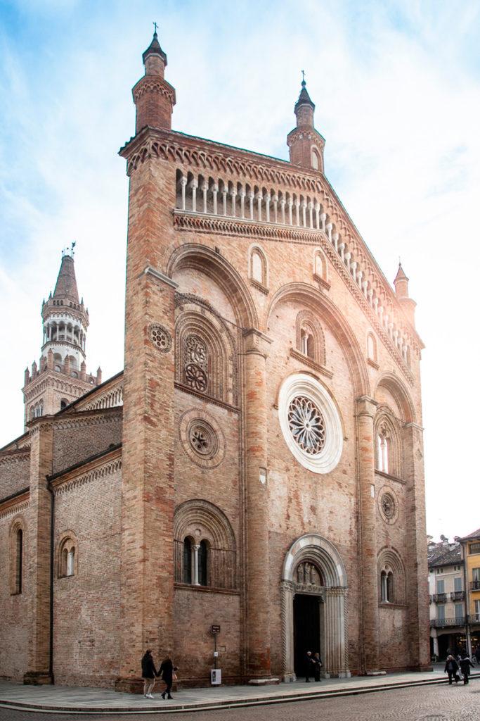 Facciata del duomo di Crema - Cattedrale di Santa Maria Assunta