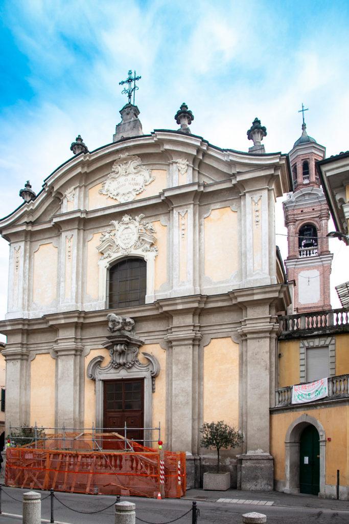 Facciata della Chiesa di San Giacomo a Crema