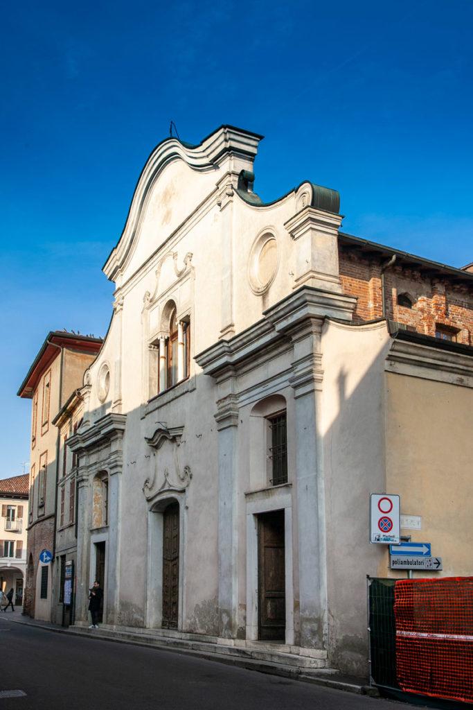 Facciata della chiesa di San Giacomo a Soncino