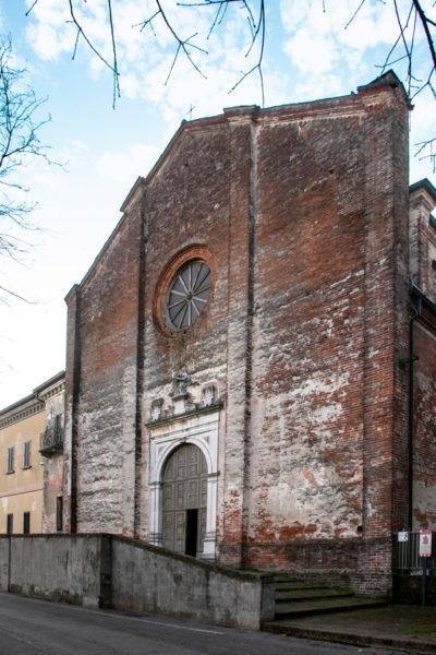 Facciata della chiesa di Santa Maria delle Grazie