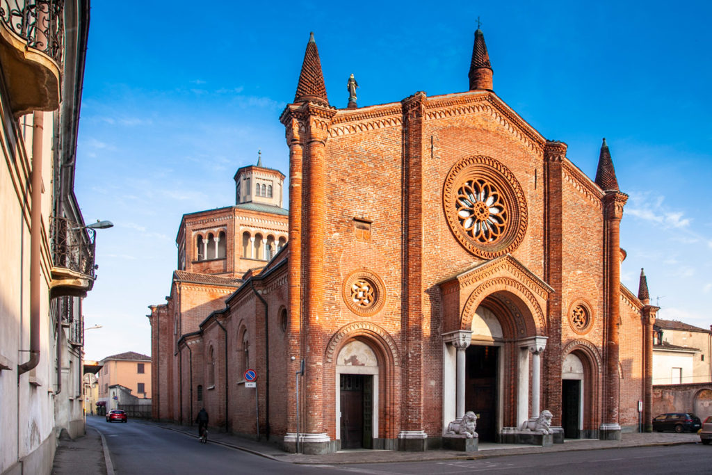 Facciata della pieve di Santa Maria Assunta - Cosa vedere a Soncino