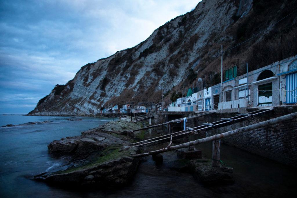 Grotte del Passetto - Costiera suggestiva di Ancona