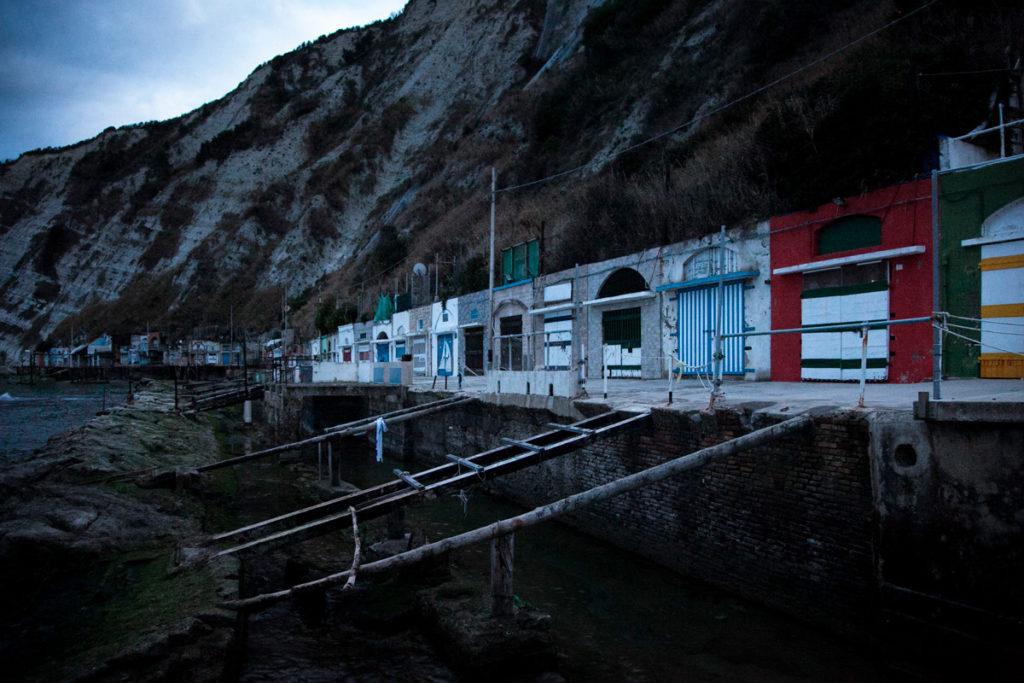 Grotte del Passetto di Ancona nel parco del Passetto