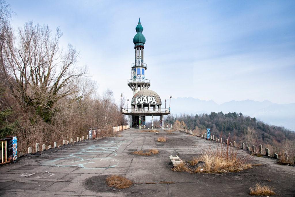 Guglia di Consonno - il Minareto