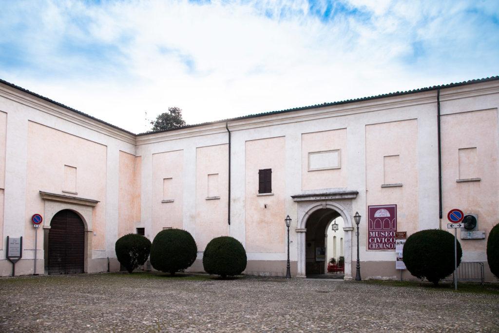 Ingresso Ex Convento di Sant'Agostino - Museo Civico di Crema e del Cremasco
