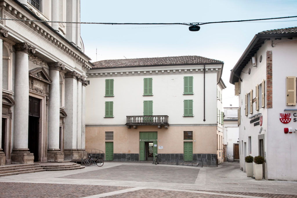 Ingresso della chiesa di San Benedetto