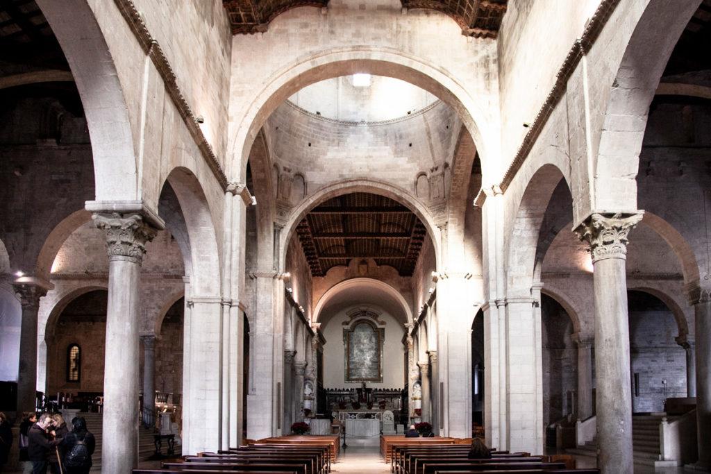 Interni della Cattedrale di San Ciriaco - Ancona
