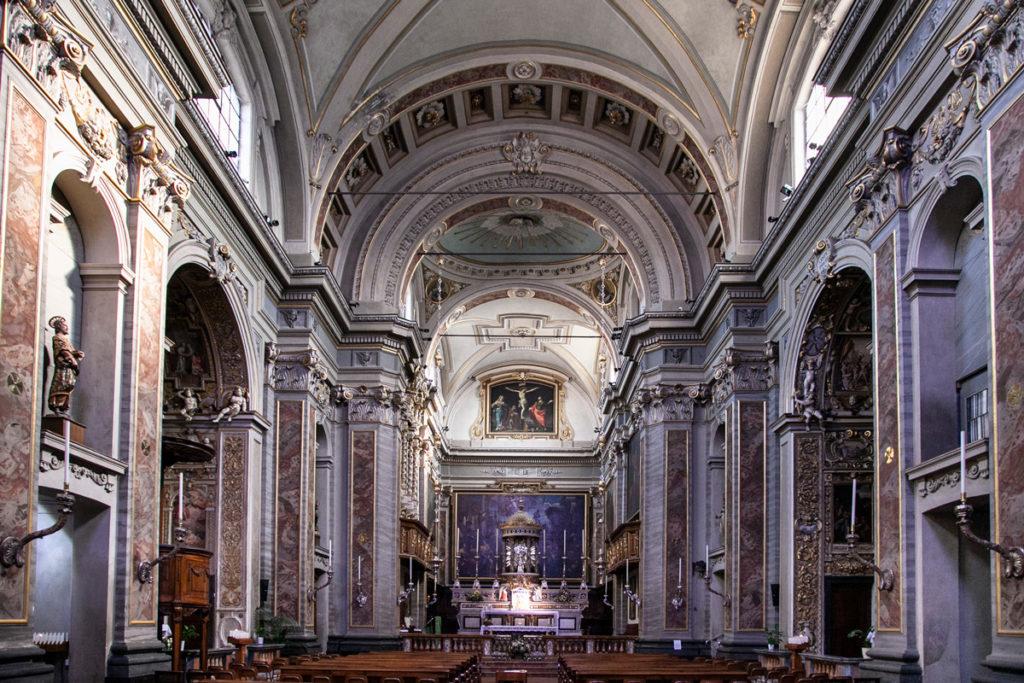 Interni della chiesa di San Benedetto a Crema