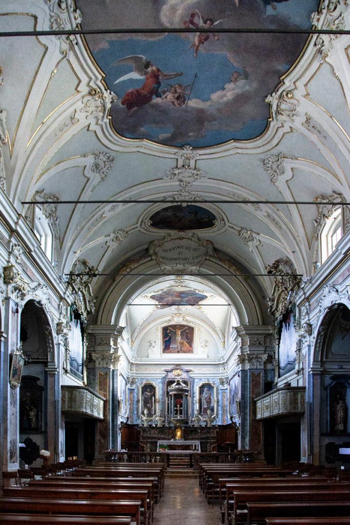 Interni della chiesa di San Giacomo a Crema