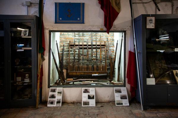 Museo della rocca sforzesca - museo di combattenti