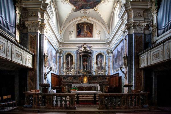 Organi e scranni in legno della chiesa di San Giacomo a Crema