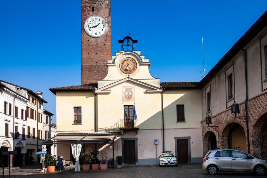 Palazzo Comunale di Soncino e la Torre Civica