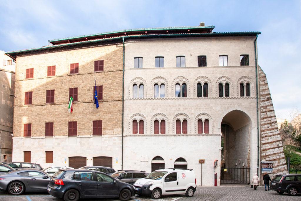 Palazzo del Senato in piazza del Senato di Ancona