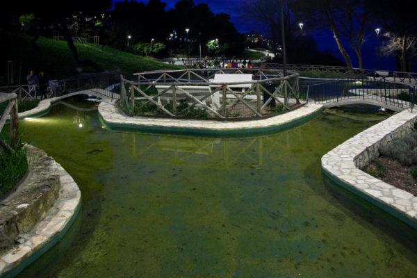 Parco del Passetto con fontanelle