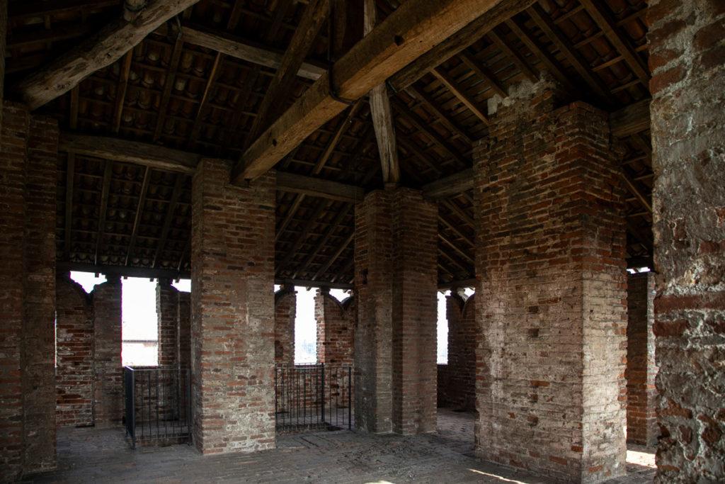 Parte superiore della torre sud est