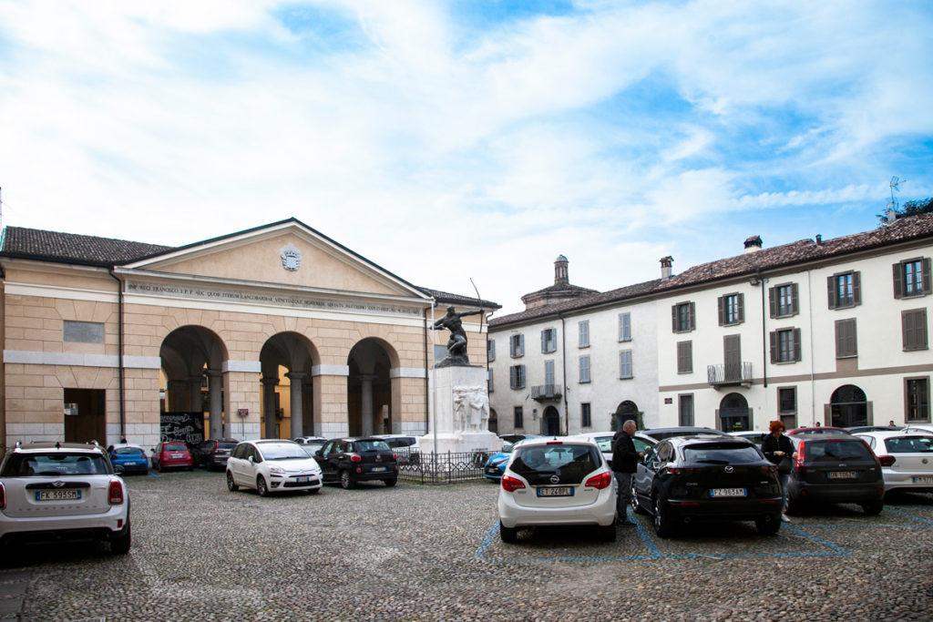 Piazza Trento e Trieste a Crema