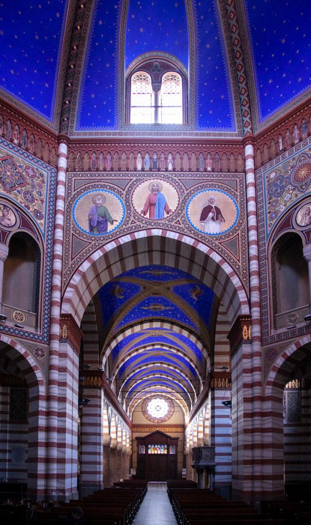 Pieve di Santa Maria Assunta e le sue volte blu - Cosa vedere a Soncino