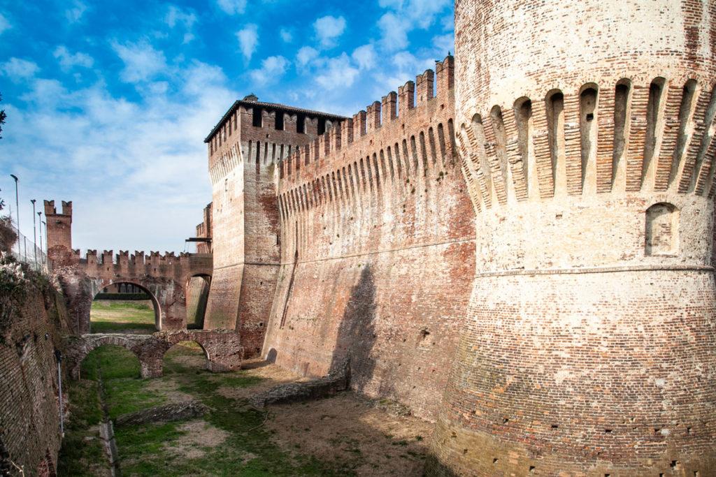 Ponti torri e mura della rocca sforzesca di Soncino