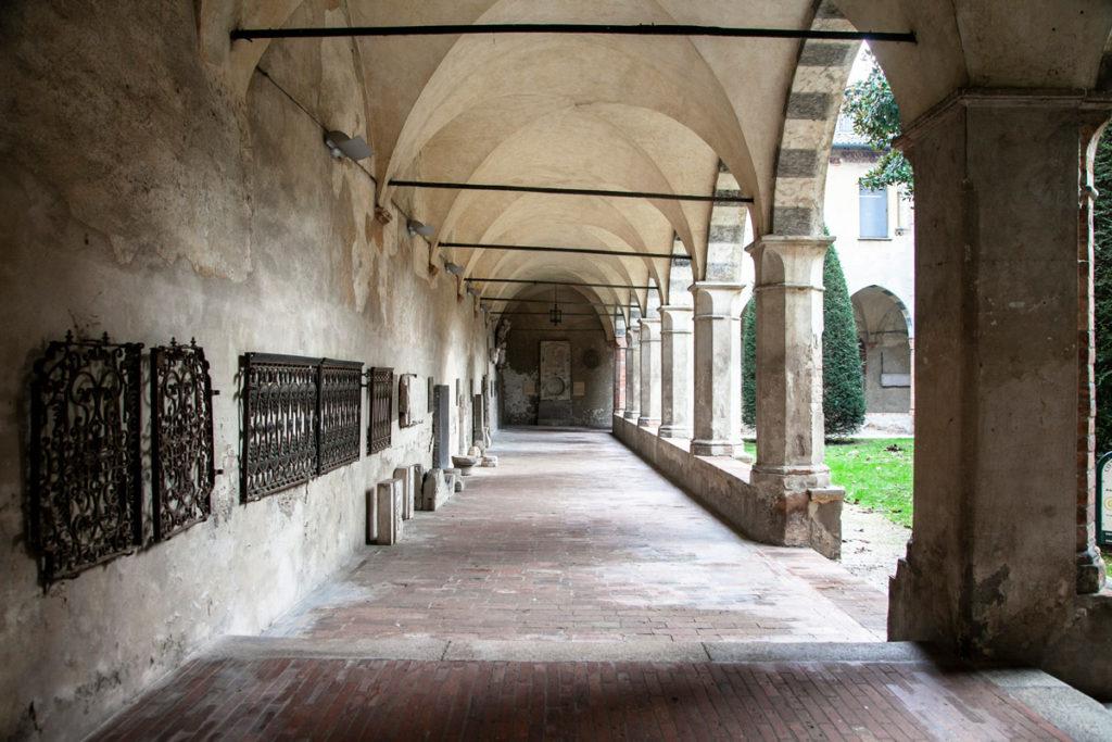 Portici del Chiostro settentrionale Ex convento di Sant'Agostino - Crema