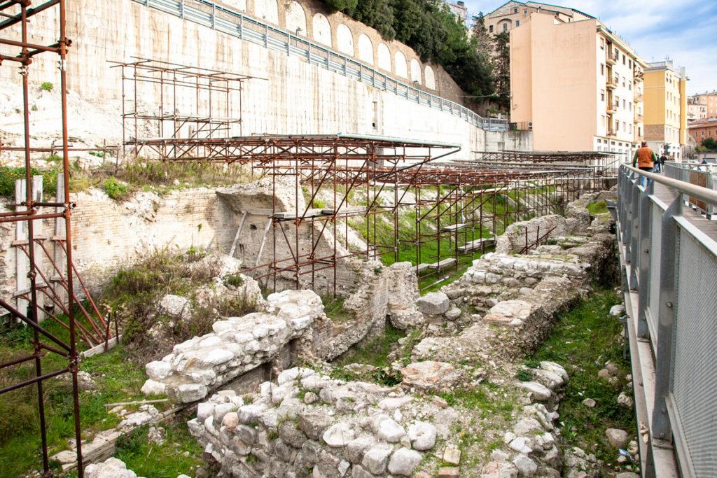 Porto Romano di Ancona - Reperti Archeologici
