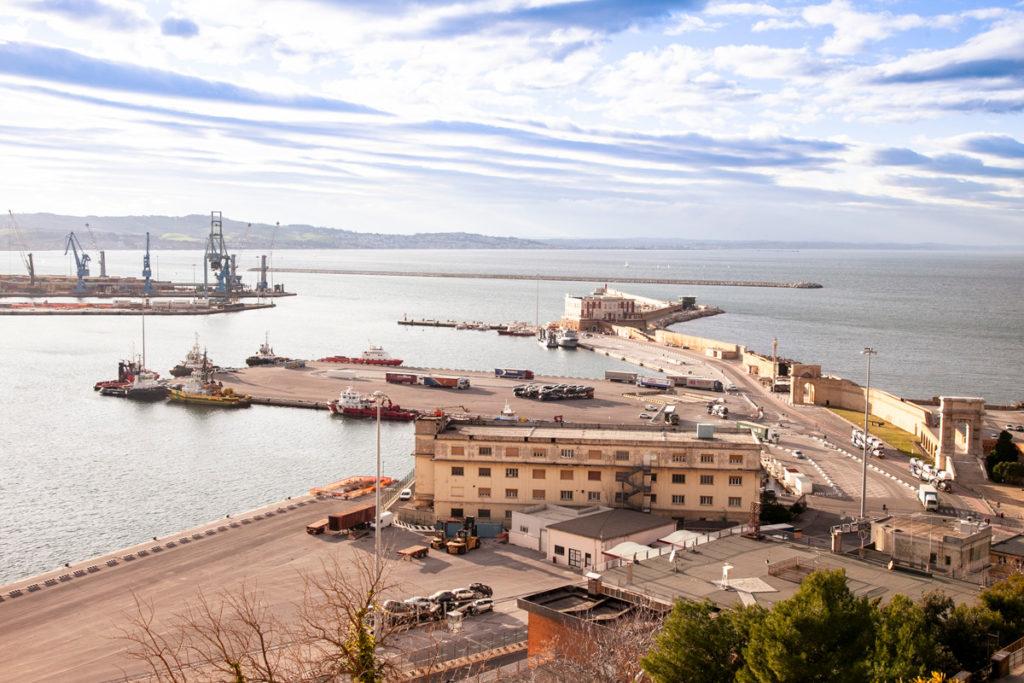 Porto Vecchio e porto Nuovo di Ancona