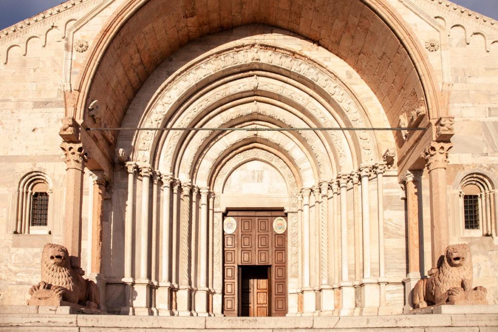 Pronao della Cattedrale di San Ciriaco - Ancona