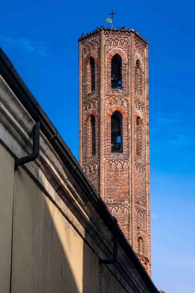 Rara torre eptagonale - Chiesa di San Giacomo