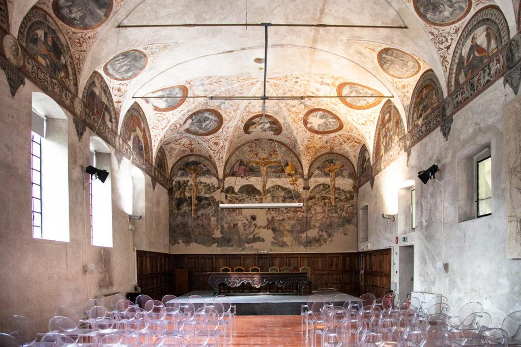 Refettorio Ex Convento di Sant'Agostino - Affreschi Cinquecenteschi