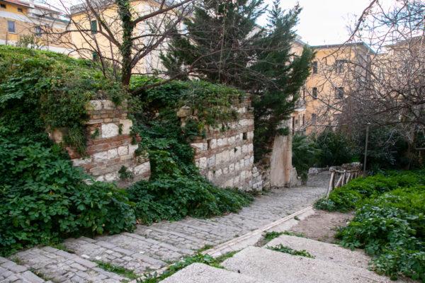 Resti delle terme romane di Ancona