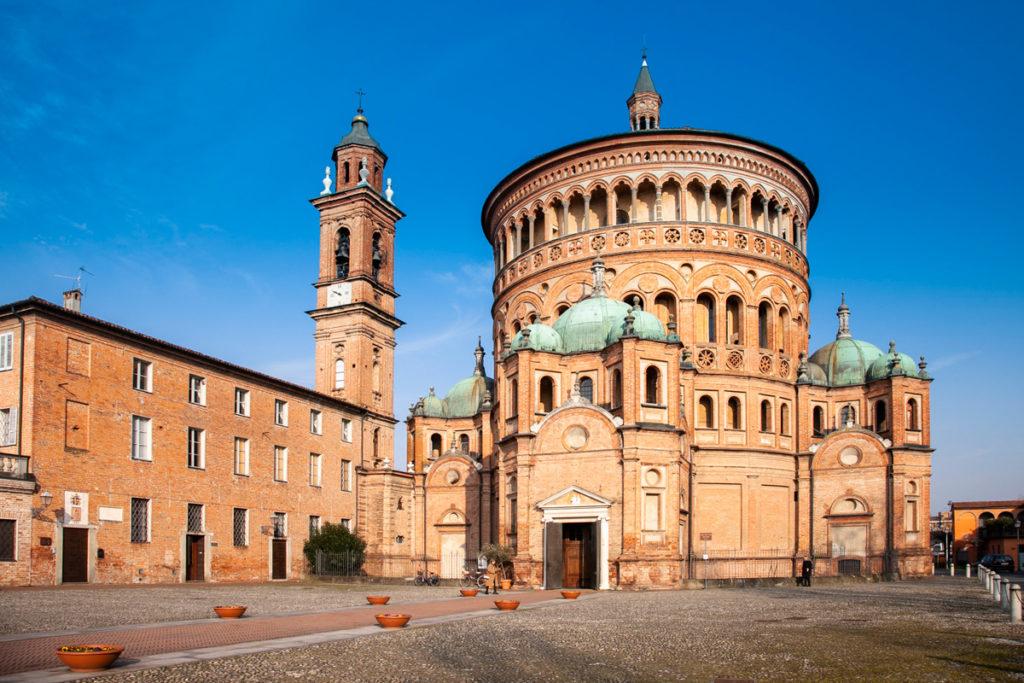 Santuario di Santa Maria della Croce - Corpo circolare centrale e quattro secondari