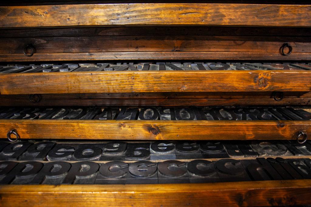 Stampa a caratteri mobili - Museo della Stampa