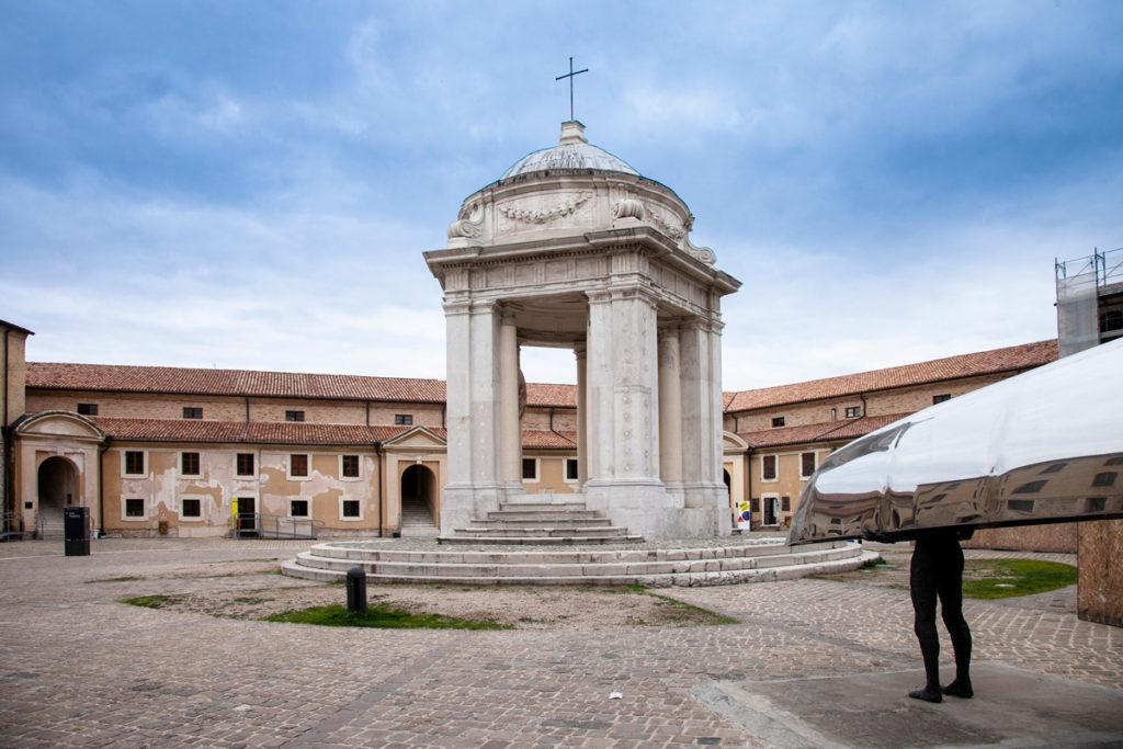 Tempietto di San Rocco e piazzetta del Lazzaretto di Ancona
