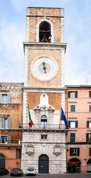 Torre Civica di Ancona in piazza del Plebiscito