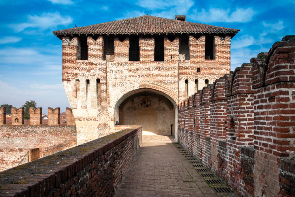 Torre sud est della rocca sforzesca di Soncino