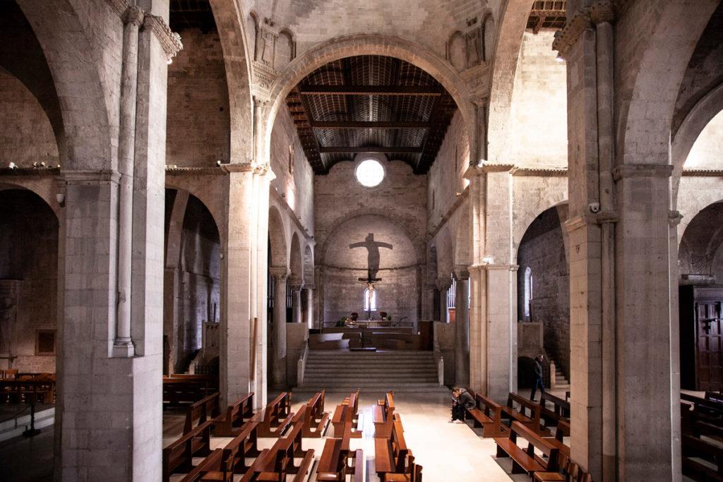 Transetto della Cattedrale di San Ciriaco e cappella del Crocifisso