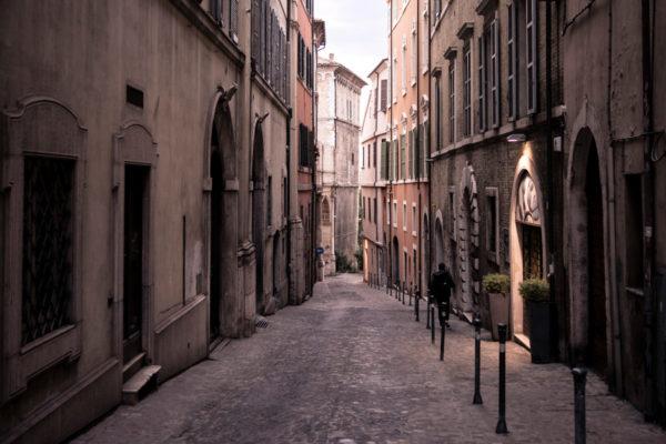 Vicoli del centro storico di Ancona