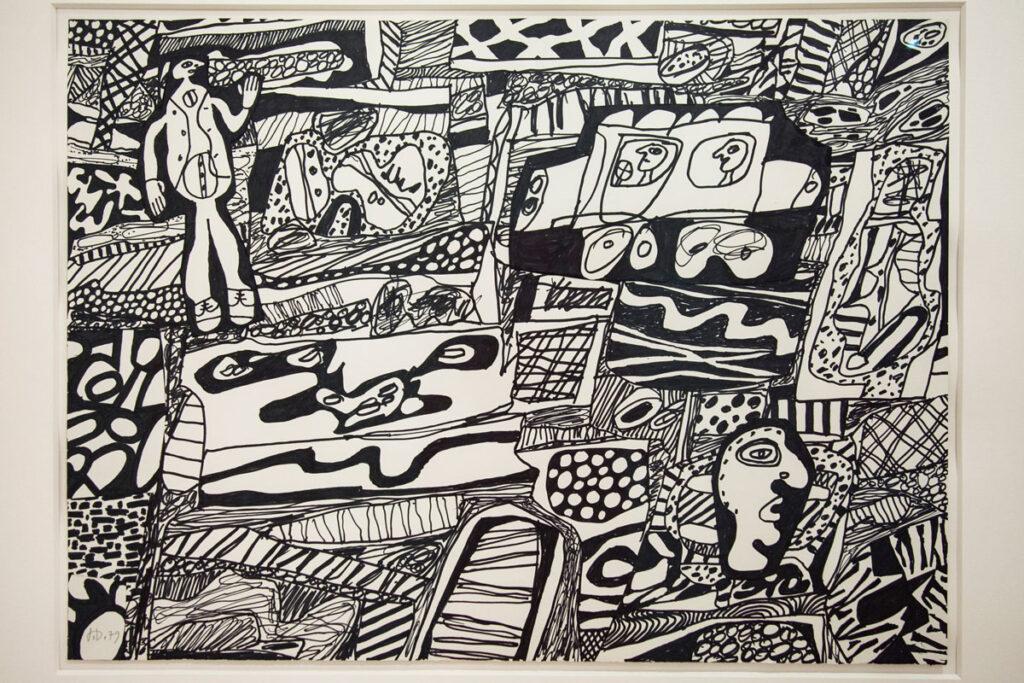 Jean Dubuffet – Memoration XXIII - 1979