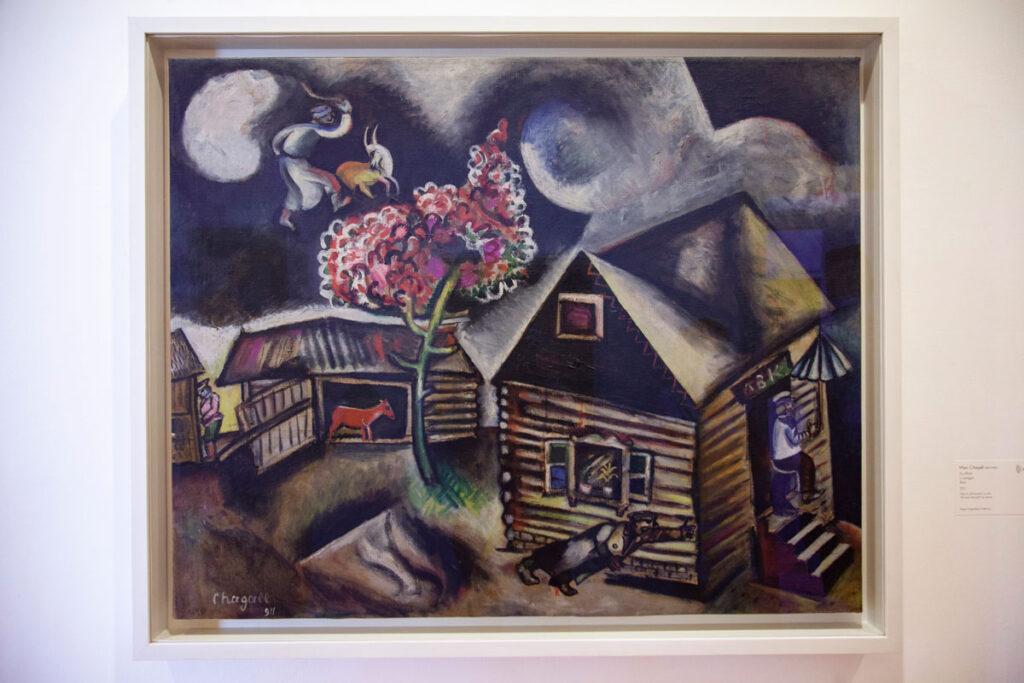 Marc Chagall – La Pioggia